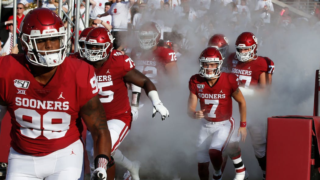 Times Tv Information Announced For 3 Ou Football Games